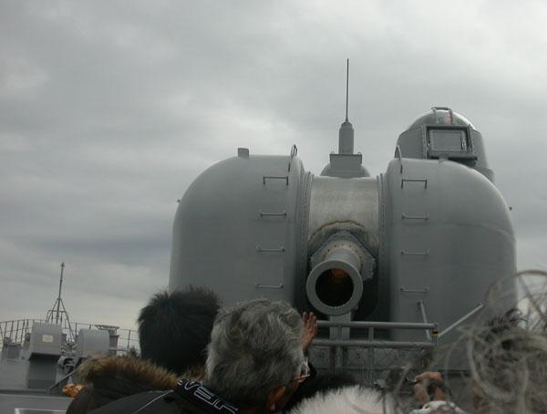 5in砲操砲展示